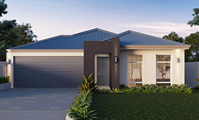 single storey home